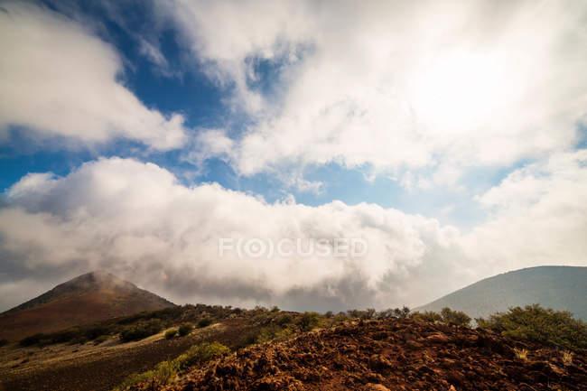 Мальовничий вид на Мауна-Кеа — стокове фото