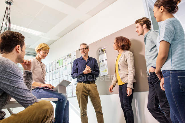 Igital design team — Stock Photo