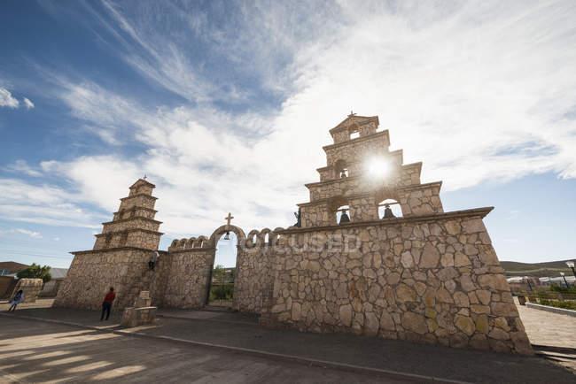 Iglesia de San Cristobal — Stock Photo