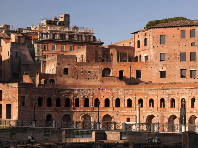 Forum of Augustus in Rome — Stock Photo