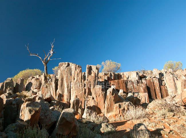 Formations rocheuses Kolay Minica Falls — Photo de stock