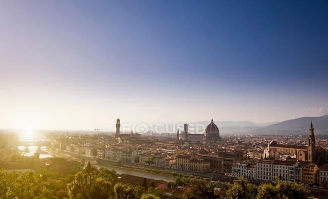 Vista de florência, itália — Fotografia de Stock