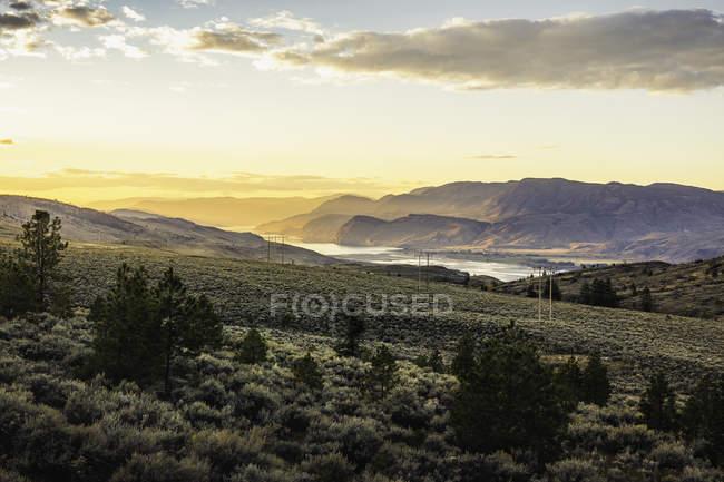 Trans Canada Highway, Kamloops, British Columbia, Canada — Foto stock