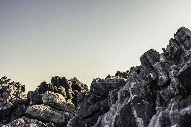 Образование скал на Самосе — стоковое фото