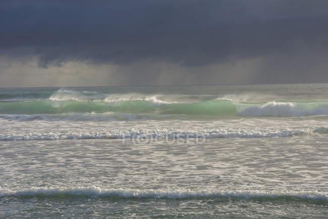 Paysage marin au parc national des Paparoa — Photo de stock