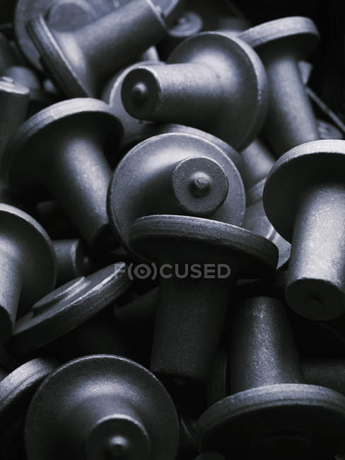 Small upset forged shafts — Stock Photo