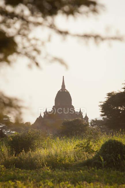 Temple de l'ancienne ville de Bagan — Photo de stock