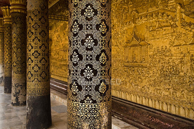 Wat sensoukharam luang prabang laos — Stock Photo