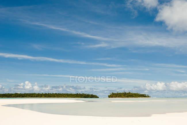 Insel im Südpazifik — Stockfoto