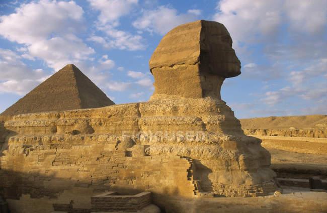 Grand sphinx de Gizeh — Photo de stock