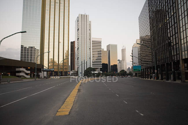 View of finance district in buenos aires — Stock Photo