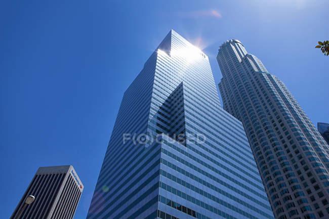 Grattacieli moderni nel centro di Los Angeles — Foto stock