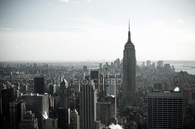 Нью-Йорк міський пейзаж — стокове фото