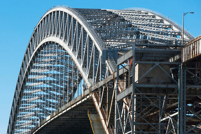 Bayonne bridge in New Jersey — Stock Photo