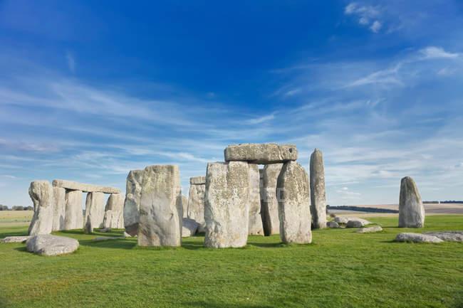 Stonehenge, Salisbury Plain — Stock Photo