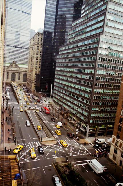 City street in Manhattan — Stock Photo