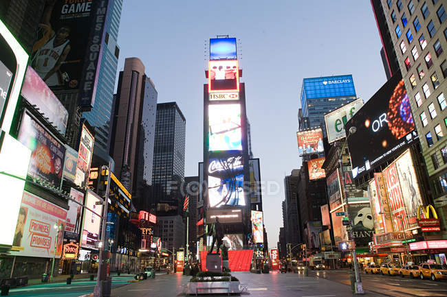 Times Square à New York City — Photo de stock