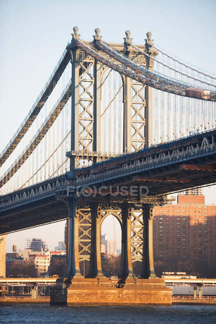 Bachklyn-Brücke in New York City — Stockfoto