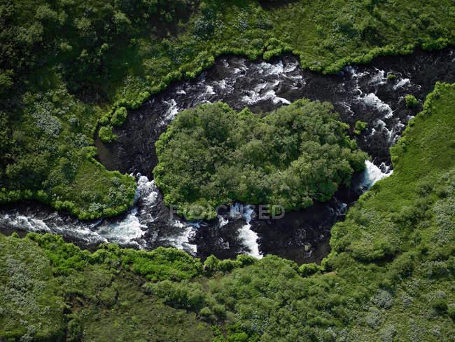 Vista del fiume di Tungufljot — Foto stock