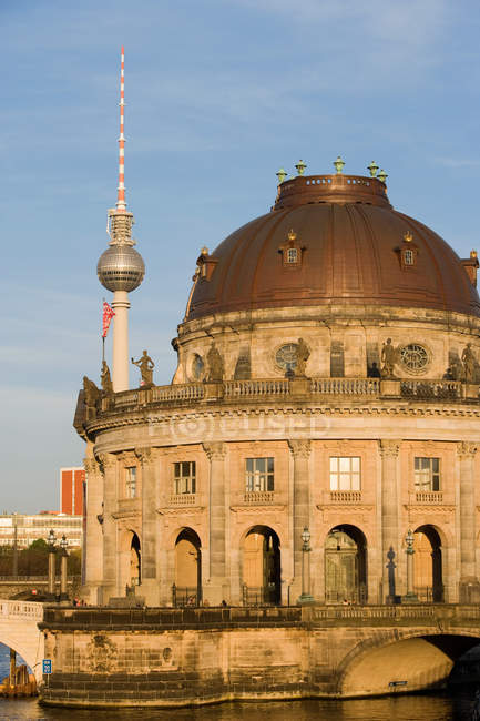 Bode Museum and Fernsehturm — Stock Photo