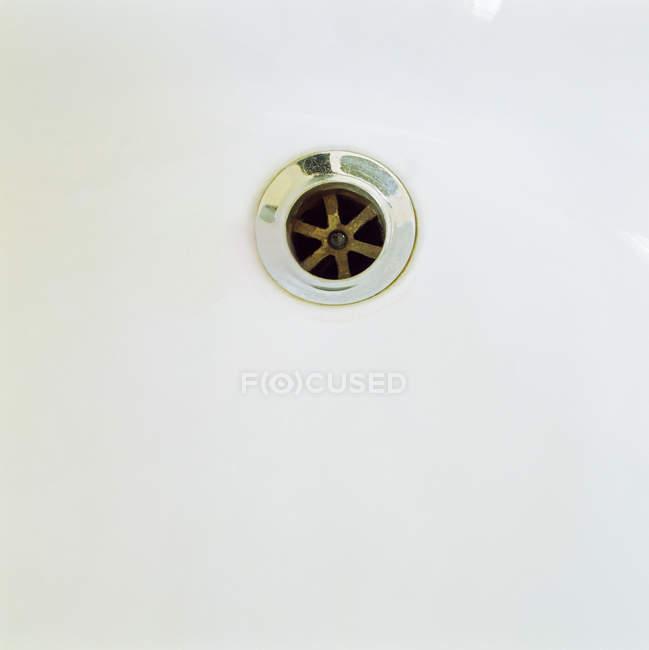 Plug отвори у ванній — стокове фото