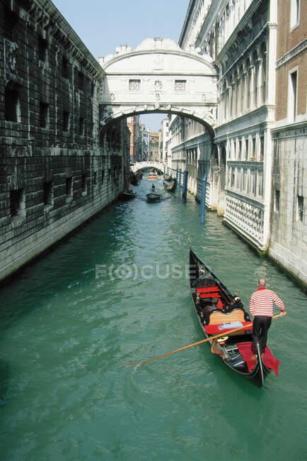 Ponte dei Sospiri, Venezia — Foto stock