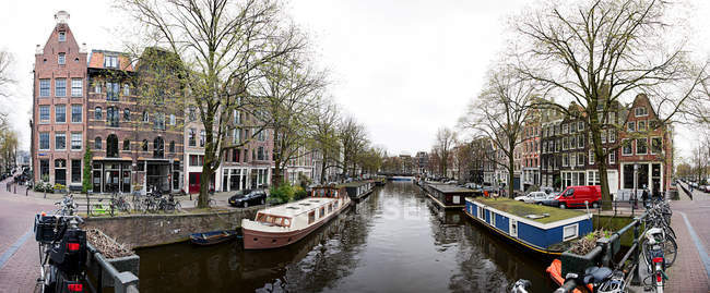 Herengracht Canal at Amsterdam — Stock Photo