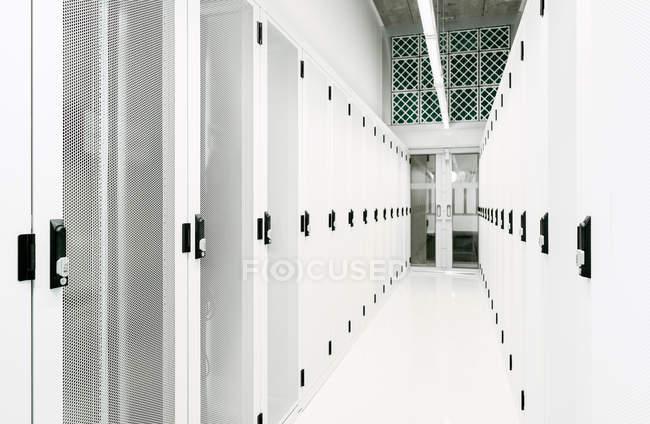 Data storage warehouse — Stock Photo