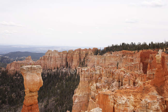Pillar rock formation in Bryce Canyon — Stock Photo