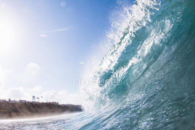 Grande onda oceanica — Foto stock