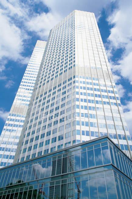 Europäische Zentralbank, Frankfurt am Main, Deutschland — Stockfoto