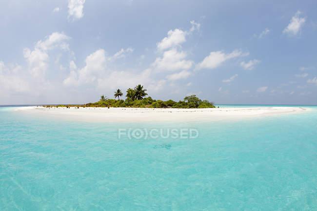 Blick auf die Insel Mathidhoo — Stockfoto