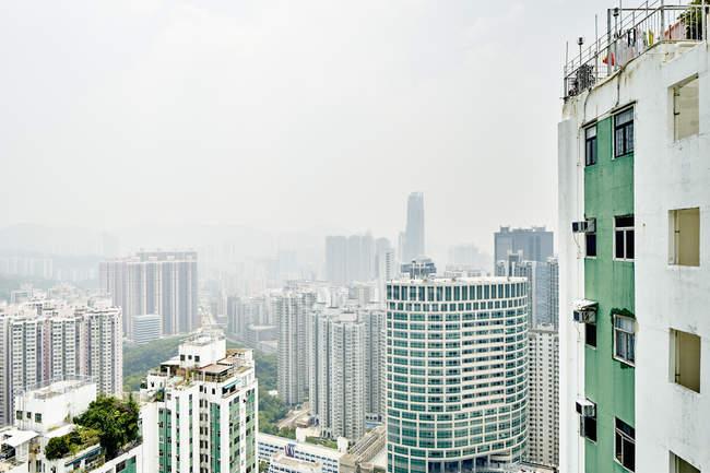 Stadtansichten von tsuen wan — Stockfoto
