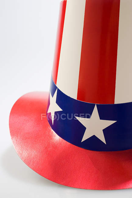 Chapéu de festa do dia da independência, close-up — Fotografia de Stock
