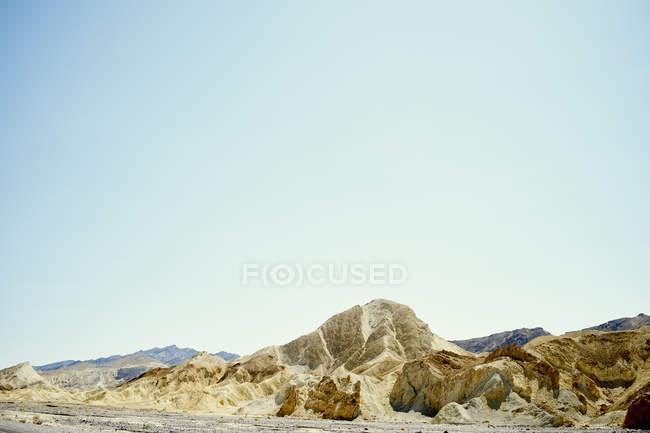 Formations rocheuses dans Death Valley — Photo de stock