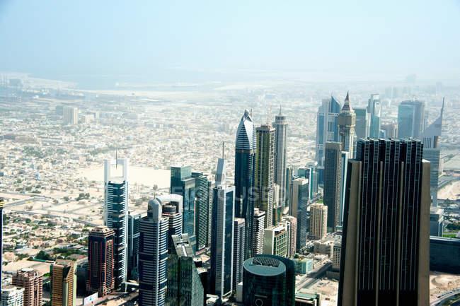 Dubai cityscape at daytime — Stock Photo