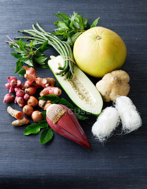 Selection of Asian vegetables — Stock Photo