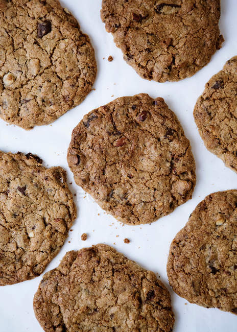 Homemade oat cookies — Stock Photo