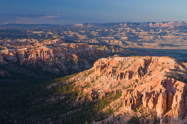 Ansicht des Bryce Canyon von Bryce Point — Stockfoto