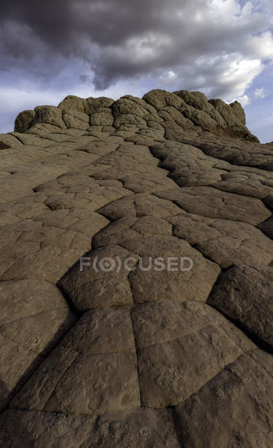 Уайт-Пойнт, Пария-Плато, Аризона, США — стоковое фото