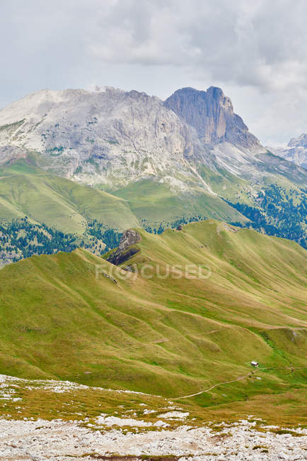Scenic view of mountains landscape at Austria — Stock Photo
