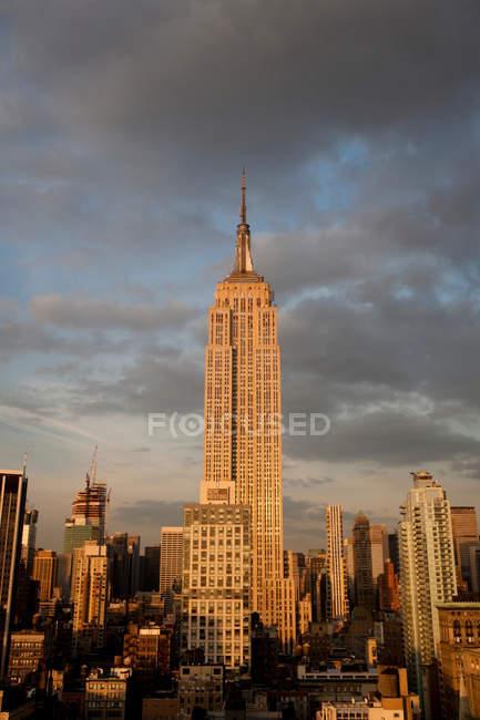 Empire State Building, Manhattan, New York City, USA — Stock Photo