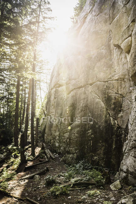 Scenic view of Murrin Provincial Park, Squamish, British Columbia, Canada — Stock Photo