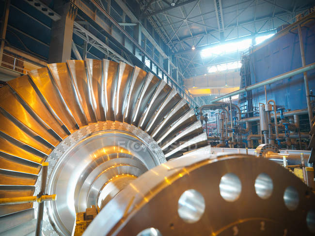 Turbine power station — Stock Photo