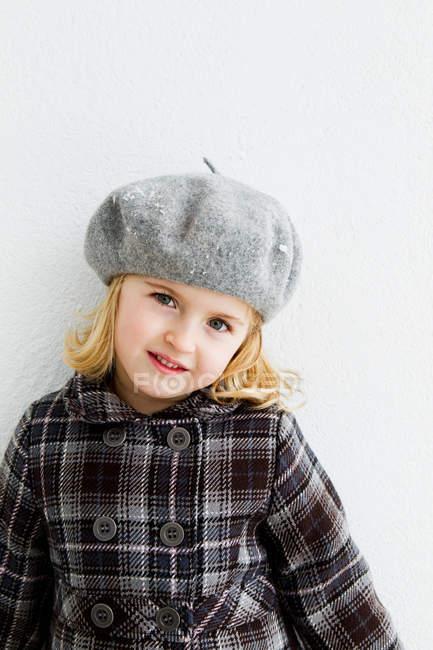 Крупним планом дівчаток усміхнені обличчя — стокове фото