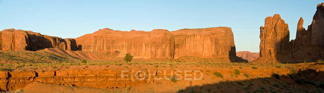 Vista do vale do monumento — Fotografia de Stock