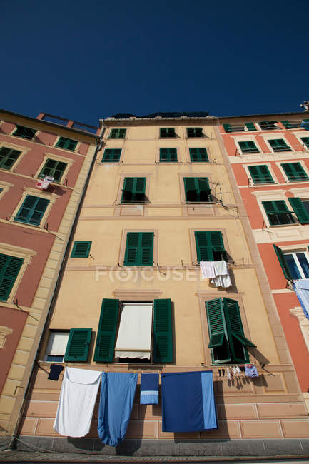 View of apartment buildings — Stock Photo