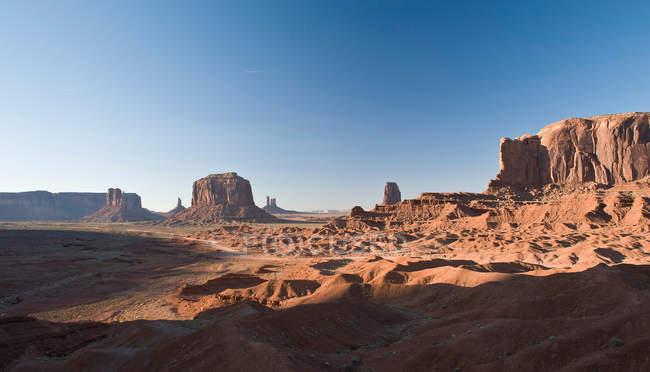 Paisagem de monumento Vale Navajo Parque Tribal — Fotografia de Stock