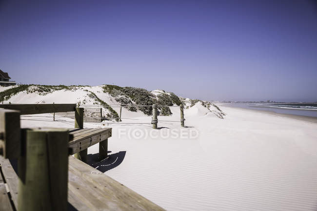 Deserted beach, Cape Town, South Africa — Stock Photo