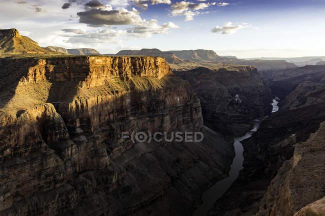Toroweap Overlook, Grand Canyon, Toroweap, Utah, EUA — Fotografia de Stock